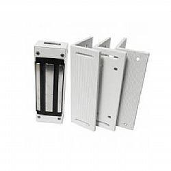 Kit Fechadura Eletroímã 180kg Universal C/3 suportes (ZL) - UNISEG