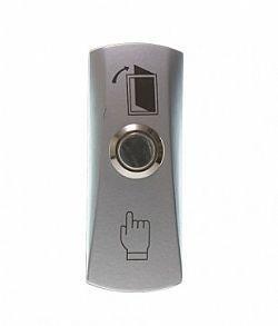 Botão/Botoeira de saida INOX c/ caixa  - Automatiza