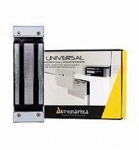 Fechadura Eletroimã Universal Prata C/ SENSOR Fs150 150kgf- Automatiza